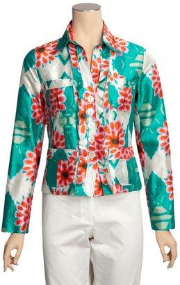 Bogner Caroll Jacket - Silk Print (For Women)