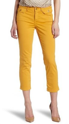 Robert Rodriguez Women's Color Twill Cropped Skinny Jeans