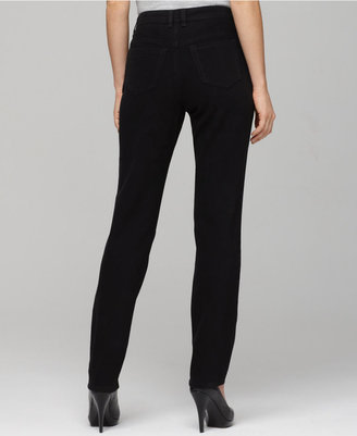 Style&Co. Plus Size Tummy-Control Tapered-Leg Jeans, Black Wash