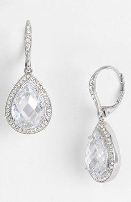 Women's Nadri Pear Drop Earrings (Nordstrom Exclusive) $75 thestylecure.com