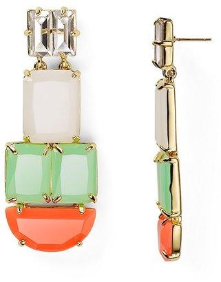 Kate Spade Varadero Tile Statement Earrings