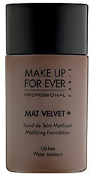 Make Up For Ever Mat Velvet + Mattifying Foundation