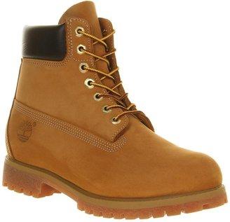 Timberland 6 Inch Buck Boots Wheat Nubuck