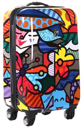 Heys Britto Collection - Garden 22 Spinner Luggage Case (Garden) - Bags and Luggage