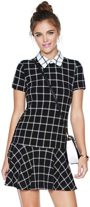 Nasty Gal Check In Dress