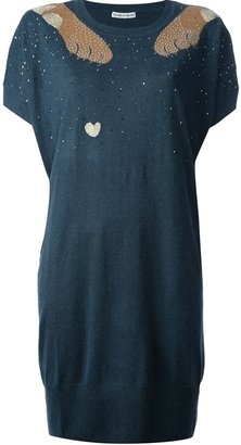 Tsumori Chisato embellished sweater dress