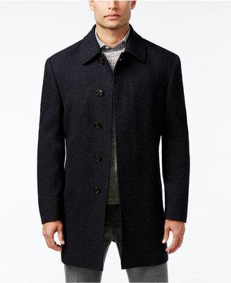 Lauren Ralph Lauren Jake Herringbone Wool-Blend Overcoat $350 thestylecure.com