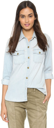 Current/Elliott The Perfect Shirt $198 thestylecure.com