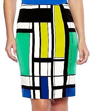 JCPenney Worthington® Print Pencil Skirt - Petites