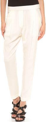 3.1 Phillip Lim Draped Pocket Trousers $375 thestylecure.com