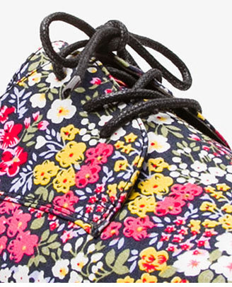 Forever 21 Floral Oxfords