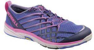 Merrell Barefoot Run Bare Access Mesh & Textile Sneakers in Dazzling Blue