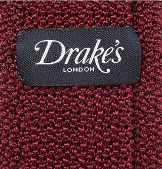 Drakes Drake's Knitted Silk Tie