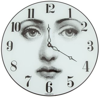 Fornasetti Face Printed Clock