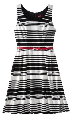 Merona Petites Refined Dress - Black/White