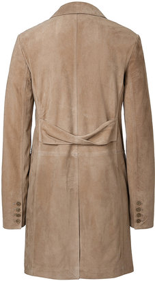 Burberry Lamb Suede Coat