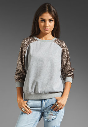 Lovers + Friends Lover Sequin Pullover