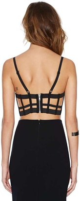 Factory Chromat Caged In Bustier