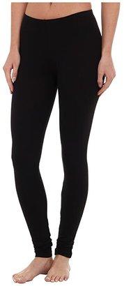 Splendid Modal Leggings (Black) Women's Casual Pants