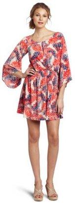 Jessica Simpson Women's Kimono Sleeve Mini Dress