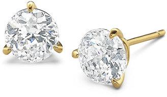 FINE JEWELRY DiamonArt 3 CT. T.W. Cubic Zirconia Stud Earrings $156.23 thestylecure.com