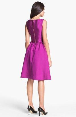 Kate Spade 'landry' Silk Blend Fit & Flare Dress