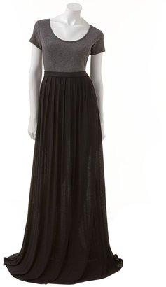 Lauren Conrad pleated maxi dress - women's