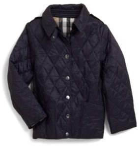 Burberry Girl's Quilted Jacket