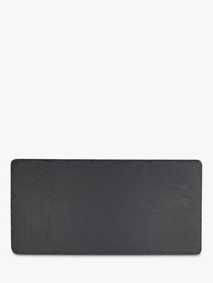 Just Slate The Company Table Runner, Black