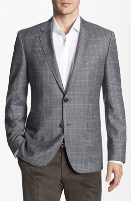 HUGO BOSS 'The Smith' Trim Fit Plaid Sportcoat