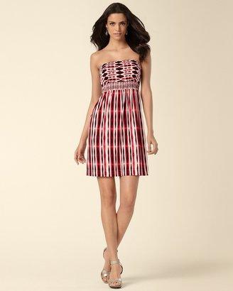 Soma Intimates Smocked Bandeau Dress