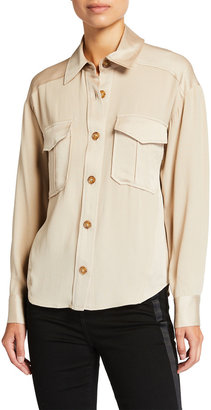 Veronica Beard Ainsley Button-Down Shirt