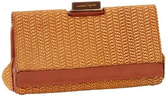 Nanette Lepore Women's Woven-Textured Leather Clutch