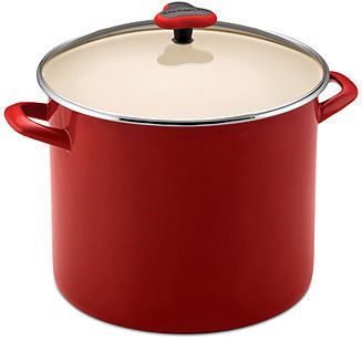 Rachael Ray Enamel on Steel 12 Qt. Covered Stockpot