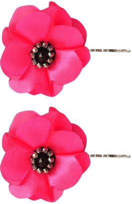 Forever 21 Beaded Rosette Hair Pin