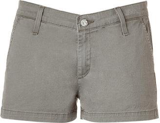 Adriano Goldschmied The Pixie Olive Khaki Shorts