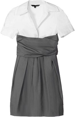 Plastic Island Grey Working Girl Dress