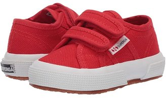 Superga 2750 JVEL Classic (Toddler/Little Kid) (Red/White) Kids Shoes