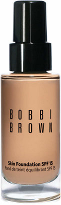Bobbi Brown Skin Foundation SPF 15, 1 oz $50 thestylecure.com