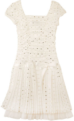 Amy Byer Kids Dress, Girls Gold Dotted Dress