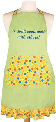 MANUAL WOODWORKERS AND WEAVER Women's I Don't Cook Well with Others Apron
