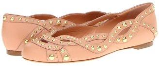 Alexander McQueen 314791WARA1 6811 Women' Flat Shoe