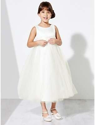 John Lewis & Partners Girls' Fairy Bridesmaid Dress, Ivory