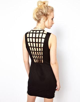 Kill City Cage Back Dress