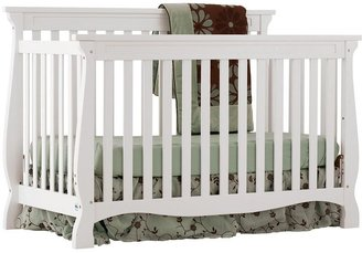 Stork Craft Carrara 4-in-1 Fixed Side Convertible Crib