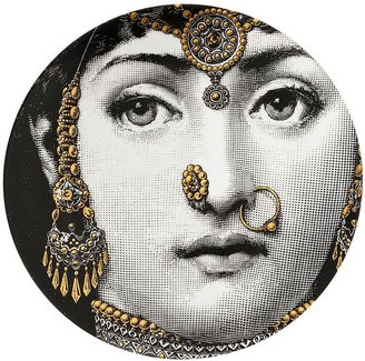 Fornasetti Face Round Plate