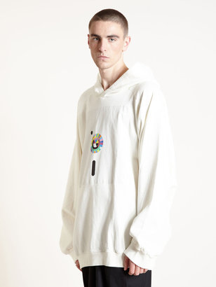 Raf Simons Archive AW03 Oversized Hooded Jumper
