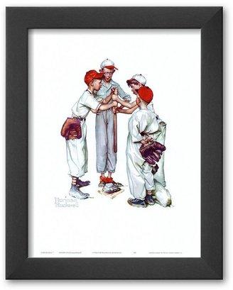 "Rockwell Art.com ""choosin' up"" framed art print by norman"
