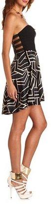 Charlotte Russe Hi-Low 2-Fer Tube Dress