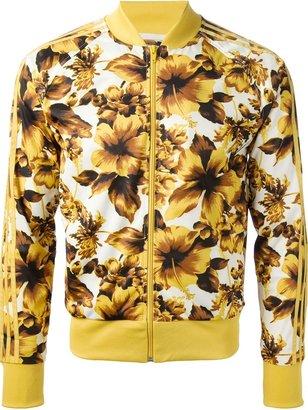 adidas floral print jacket
